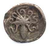 Octopus on 5th c. BC Syracusan silver litra